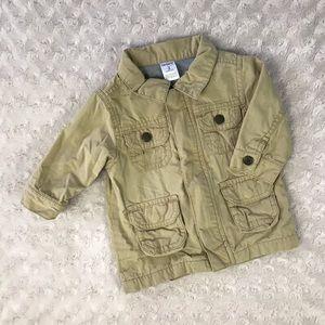 Carter's Khaki Tan Baby Boy Jacket 3 Months